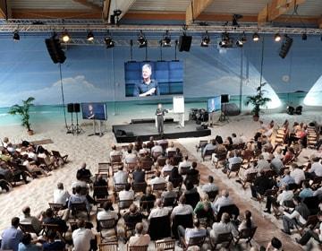 Tagung Beachhalle Hamburg