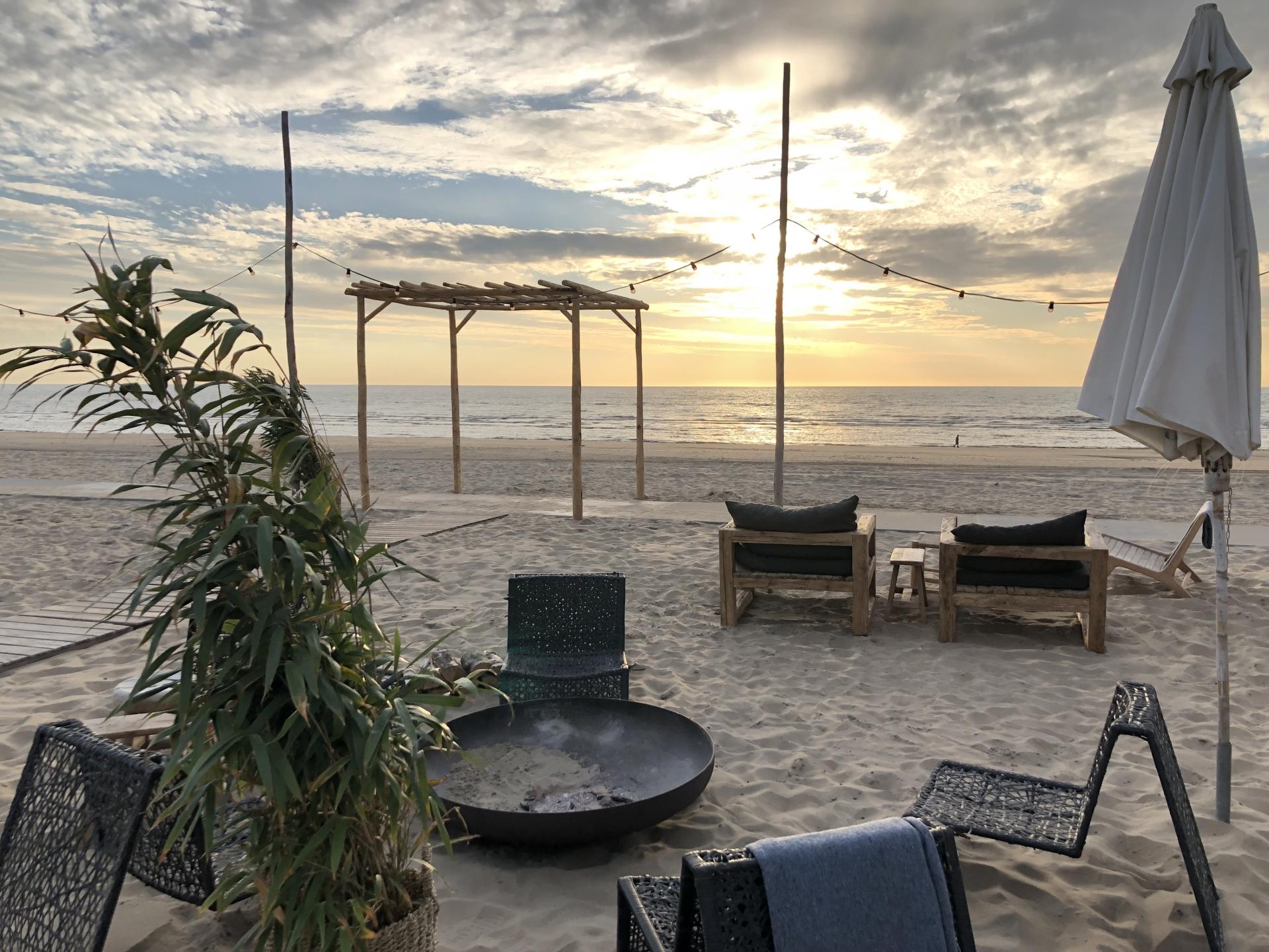 Beachbar Holland Firmen Reise